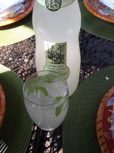 Easy gin basil mojitos